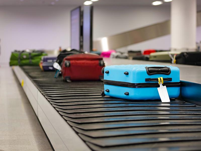 Casos de bagagem extraviada