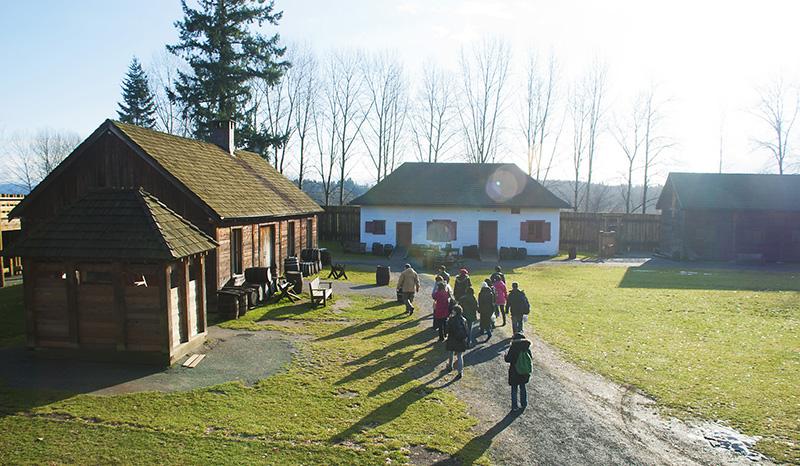 Charme da região de Fort Langley em Vancouver
