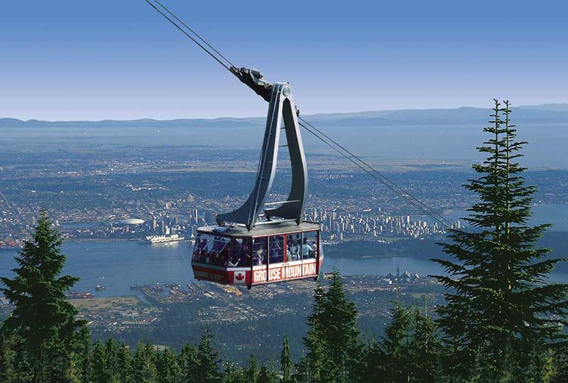 Teleférico Skyride em Vancouver