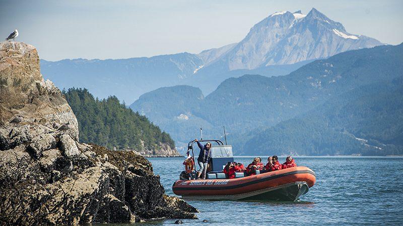 Excursão de barco em Vancouver