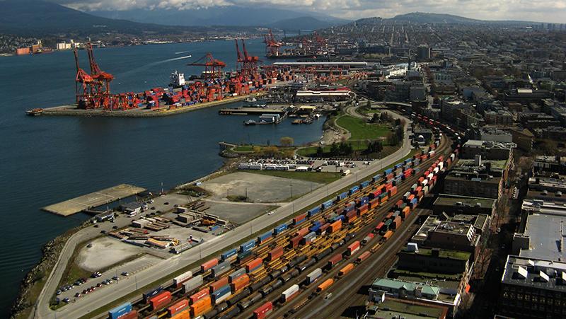 Passeio pelo Porto de Vancouver