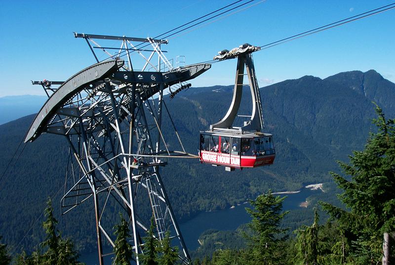 Montanha Grouse em Vancouver