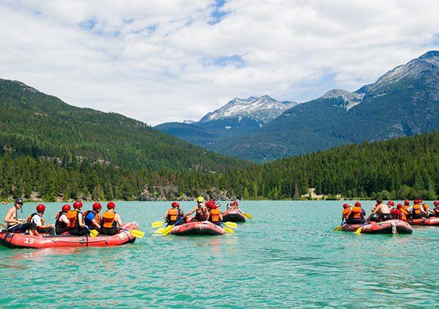 Passeio de rafting em Vancouver