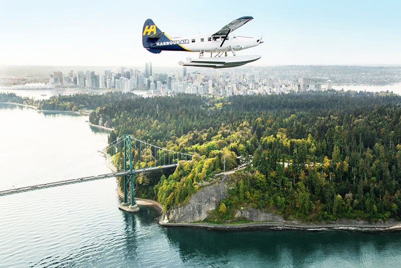 Voo de hidroavião pelas Ilhas do Golfo em Vancouver
